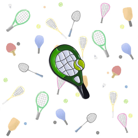 All Things Tennis Lapel Pin