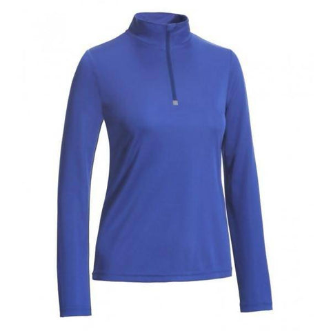 Ladies Quarter-zip Performance Pullover