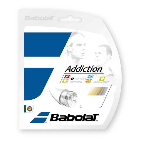 Babolat Addiction Synthetic Strings 16 Clear