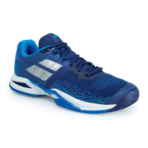 Babolat Men Propulse Blast All Court Tennis Shoes Blue