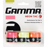 Gamma Neon Tac 3 Overgrips Color Mix