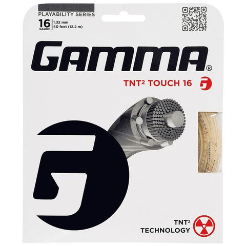 Gamma TNT2 Touch Synthetic Strings 16 Natural