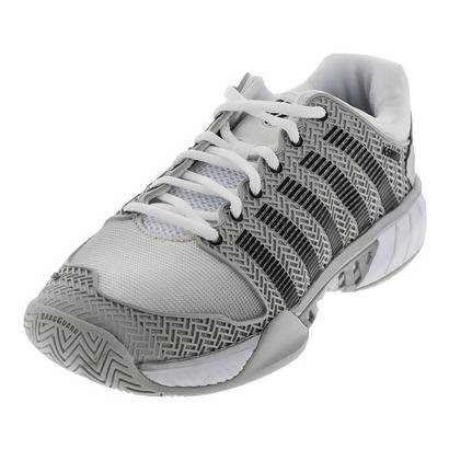 K-Swiss Men Hypercourt Express Tennis Shoes Glacier Gray/White