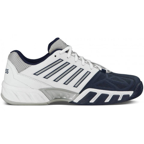K-Swiss Men Bigshot 3 Tennis Shoes White/Navy