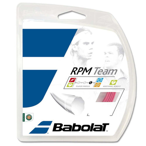 Babolat RPM Team Polyester Strings 16 Pink