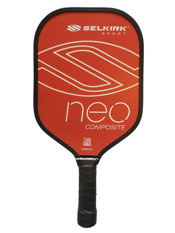 Selkirk Sport Neo Polymer Composite - Ultimate Starter Pickleball Paddle Red
