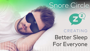 Snore Circle|Smart Anti-Snoring Eye Mask