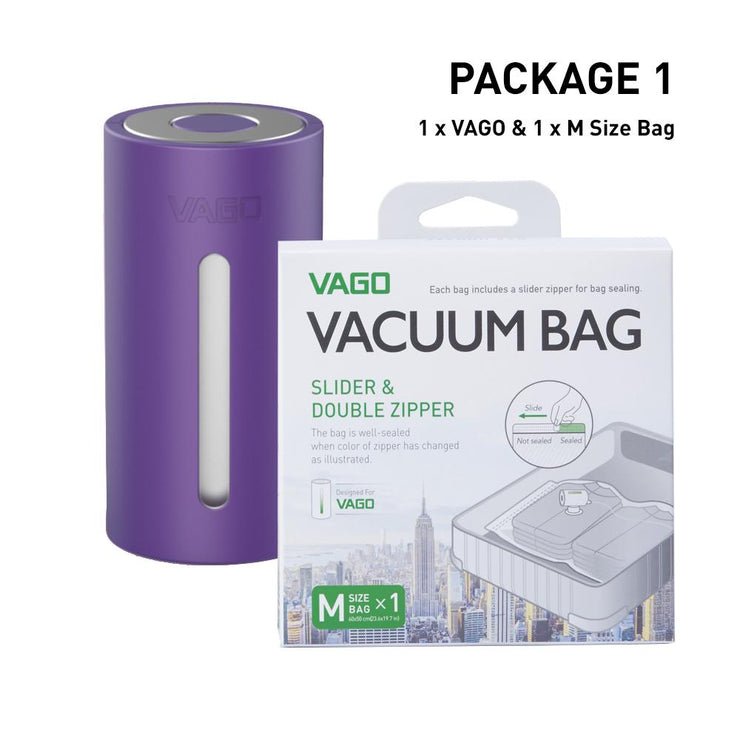 PRE-ORDER : VAGO : Purple : Package 1
