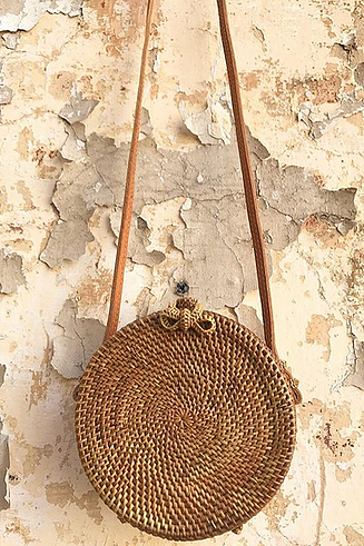 SARDIS - Hayley Rattan Straw Bag