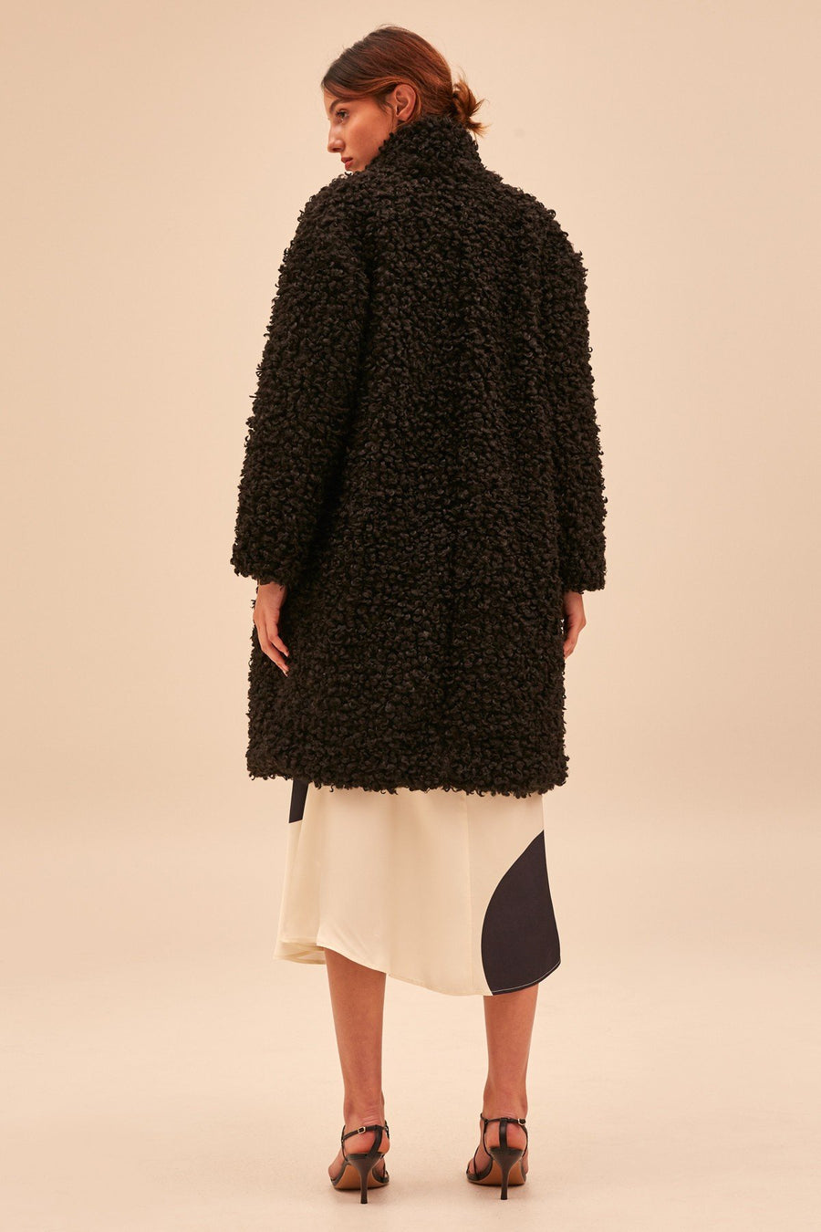 C/MEO COLLECTIVE - ABOUT NOW COAT - BLACK