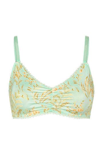 SPELL - MAISIE BRALETTE - VINTAGE TURQUOISE