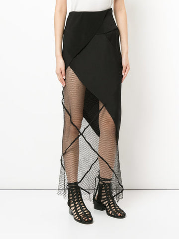 KITX - Web Of Life Skirt - Black
