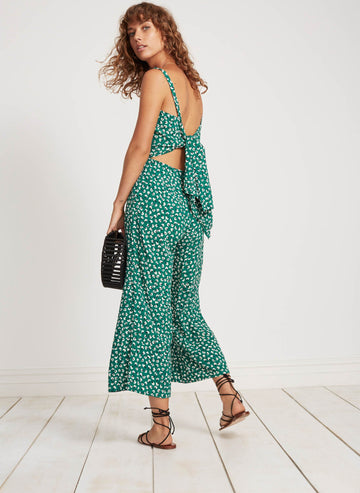 FAITHFULL THE BRAND - Playa Jumpsuit - Vintage Bloom Print