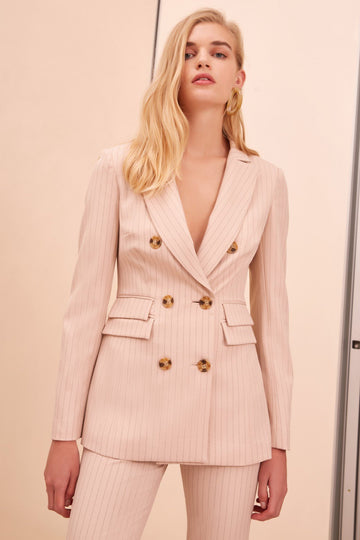 C/MEO COLLECTIVE - Go From Here Blazer - Nude