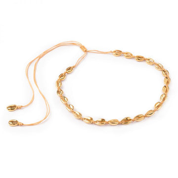 SARDIS - Astrid Shell Necklace - 18k Gold