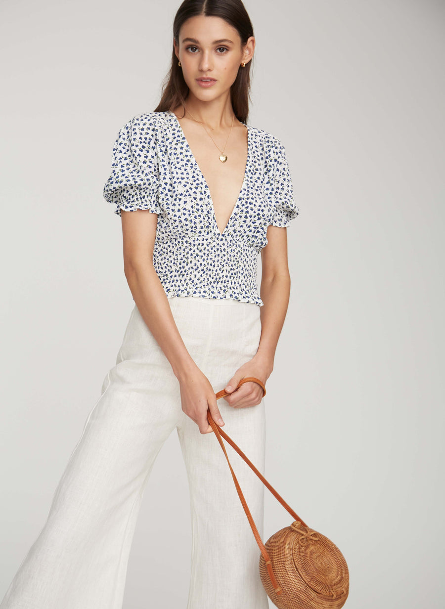 FAITHFULL THE BRAND - First Light Top - Rae Floral Print