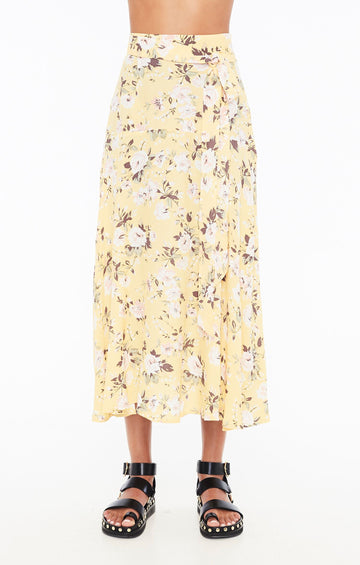 FAITHFULL THE BRAND - ASIYA SKIRT - POMELINE FLORAL