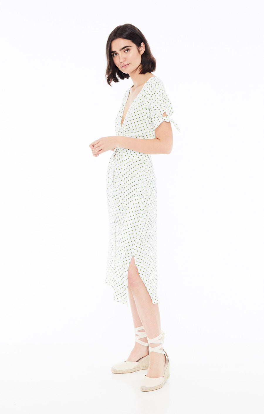 FAITHFULL THE BRAND - Billie Midi Dress - Lula Dot