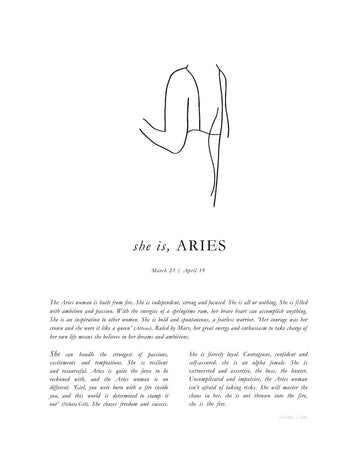 SUNDAY LANE - Aries Women