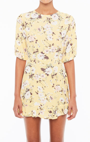 FAITHFULL THE BRAND - JEANETTE DRESS - POMELINE FLORAL
