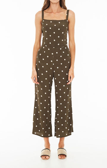 FAITHFULL THE BRAND - Playa Jumpsuit - Ronja Dot Print