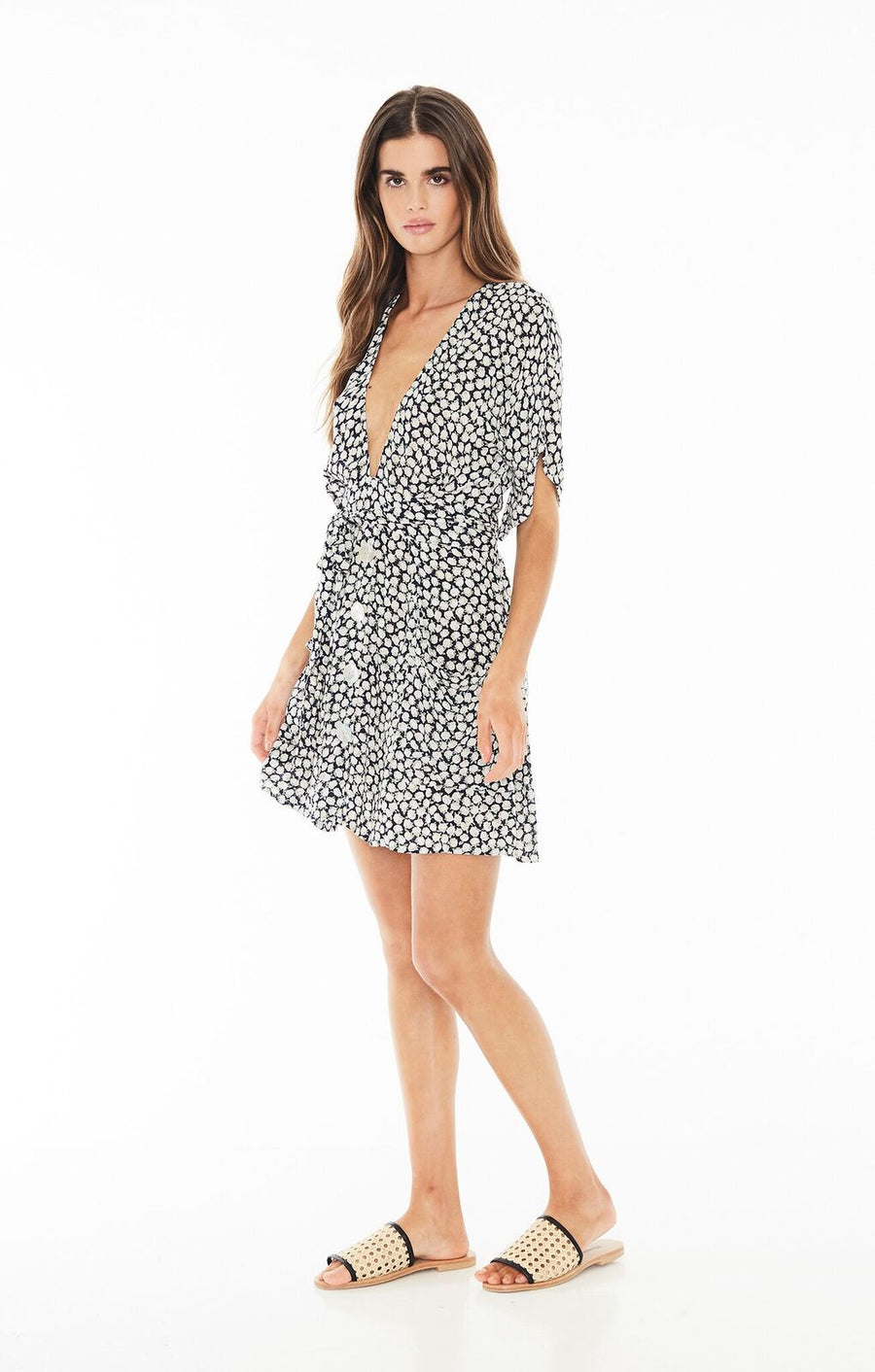 FAITHFULL THE BRAND - Umbria Dress - Azalea Print