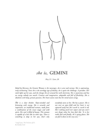 SUNDAY LANE - Gemini Women