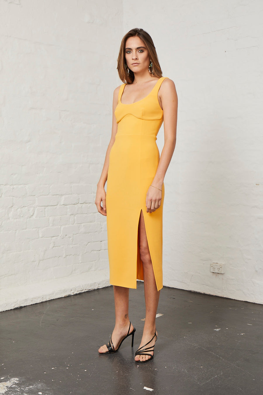 BEC & BRIDGE - Elle Midi Dress - Mango