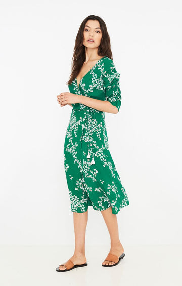 dd7a3b52d77d FAITHFULL THE BRAND - Anne Marie Midi dress - Cap Estel Floral