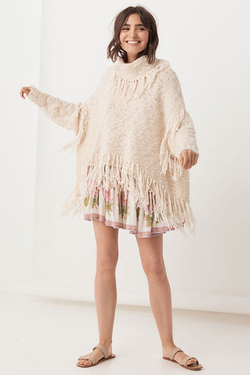 SPELL & THE GYPSY - Kimba Knitted Sweater - Almond