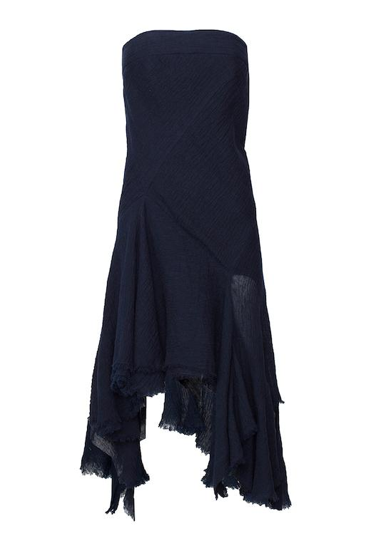 KITX - Faithfull Keeper Strapless Dress - Navy