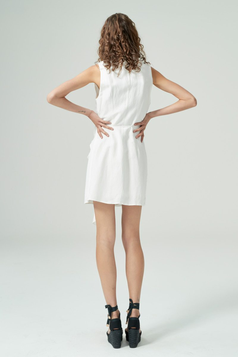 HANSEN & GRETEL - Delilah Linen Dress - White