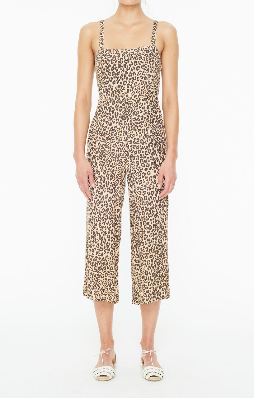 FAITHFULL THE BRAND - Elsa Jumpsuit - Mila Animal Print