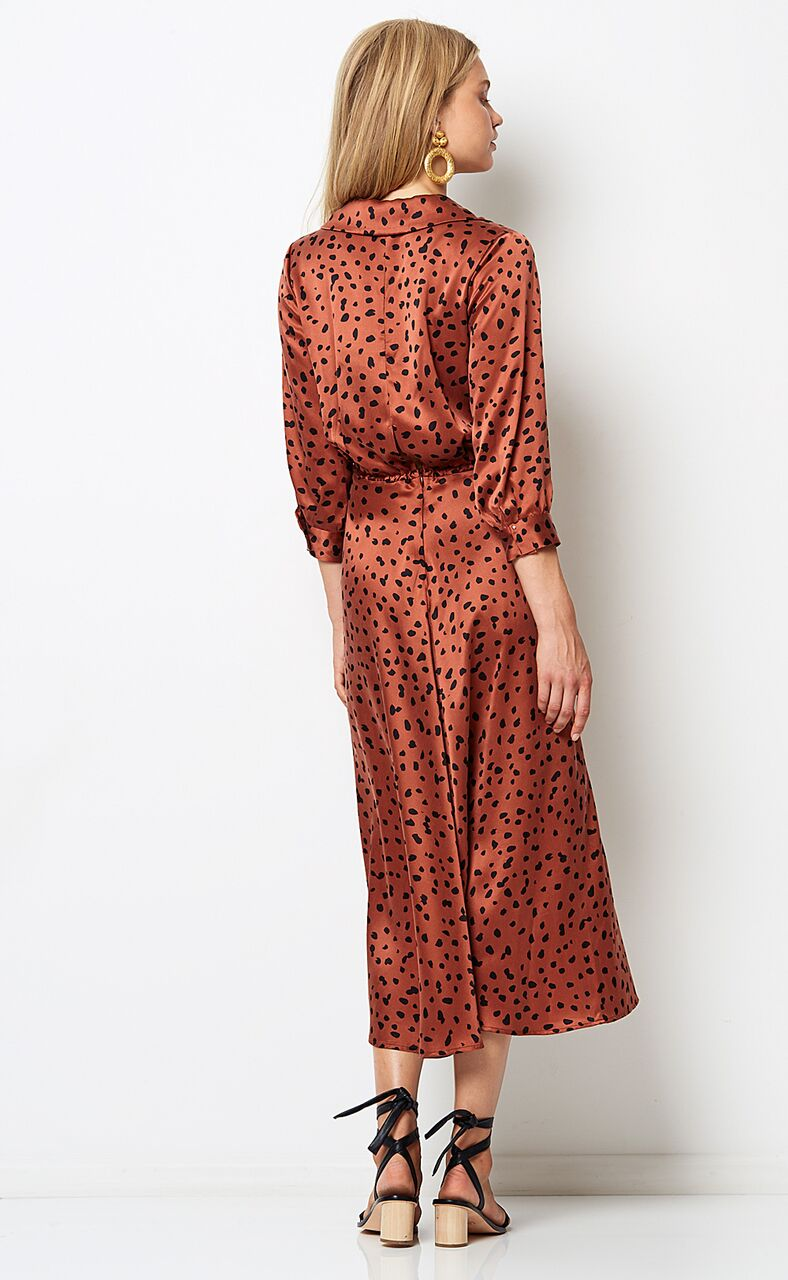 BEC & BRIDGE - Wild Cat Midi Dress