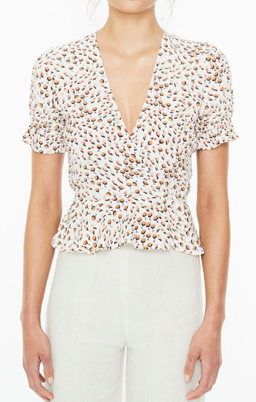 FAITHFULL THE BRAND - Salvador Top - Sabine Floral Print