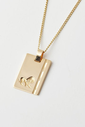 RELIQUIA - Gold Star Sign Necklace - LEO