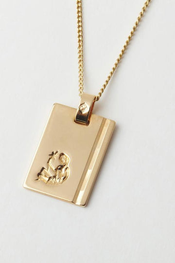 RELIQUIA - Gold Star Sign Necklace - CAPRICORN