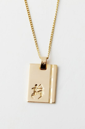 RELIQUIA - Gold Star Sign Necklace - SAGITTARIUS