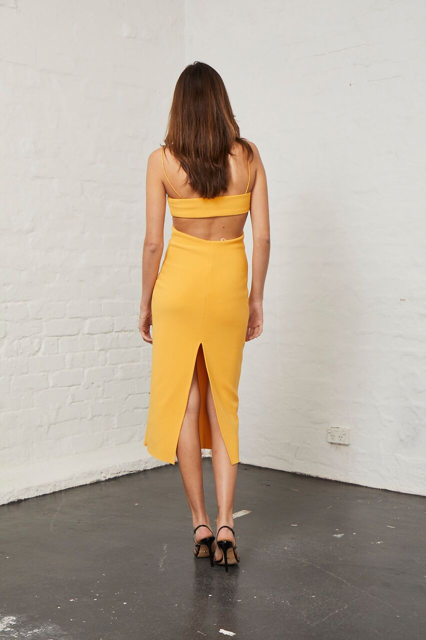 BEC & BRIDGE - Elle Cut Out Midi Dress - Mango