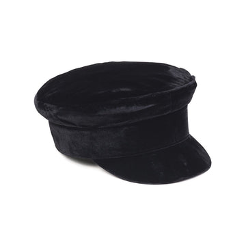 LACK OF COLOR - Velveteen Cap - Black