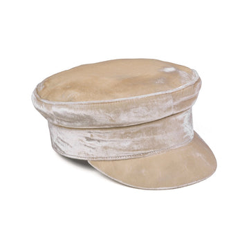 LACK OF COLOR - Velveteen Cap - Gold