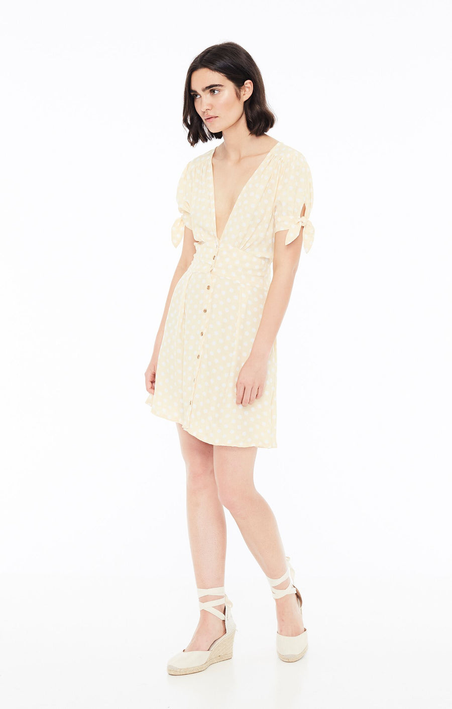 FAITHFULL THE BRAND - Marianne Dress - Le Marais Dot