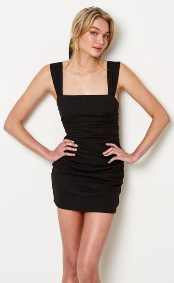 BEC & BRIDGE - Catalina Mini Dress - Black