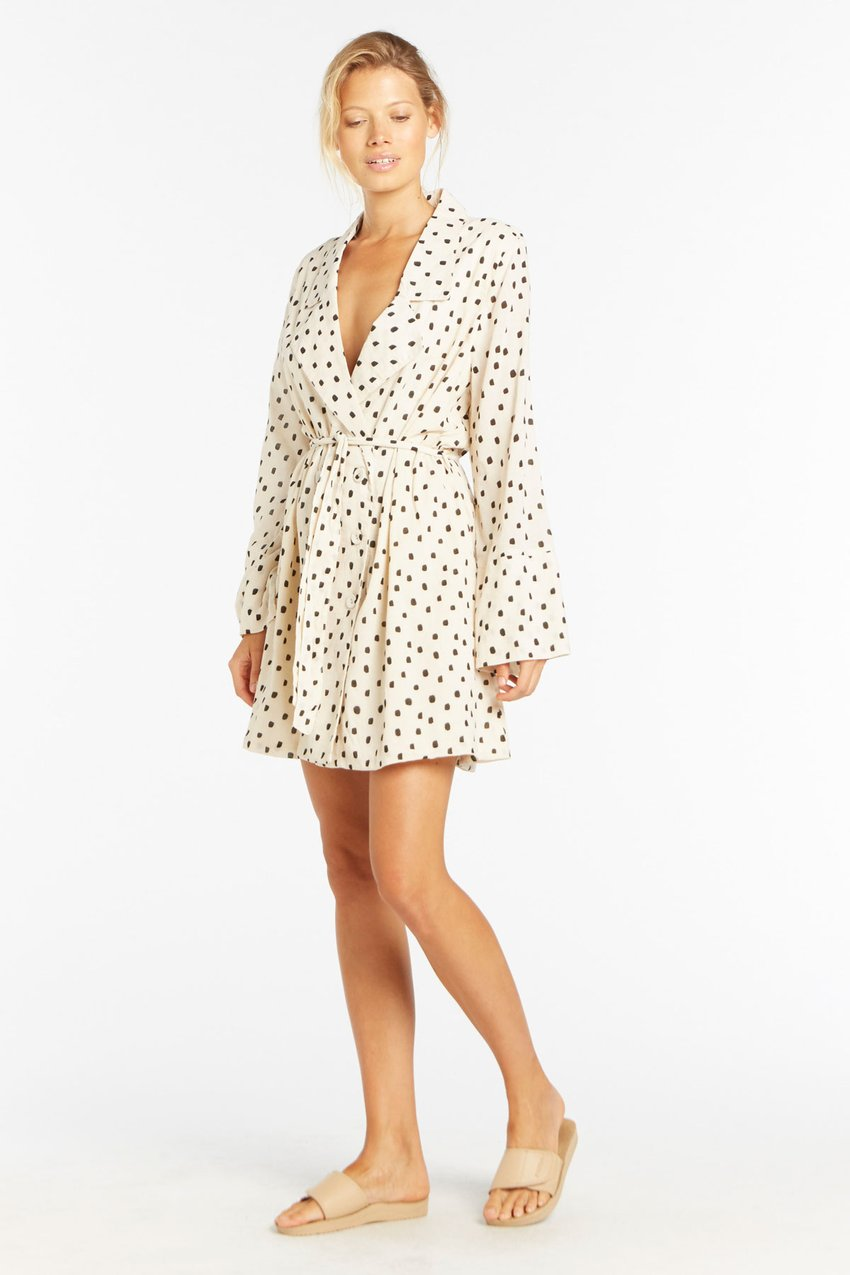 ZULU & ZEPHYR - Speckle Shirt Dress