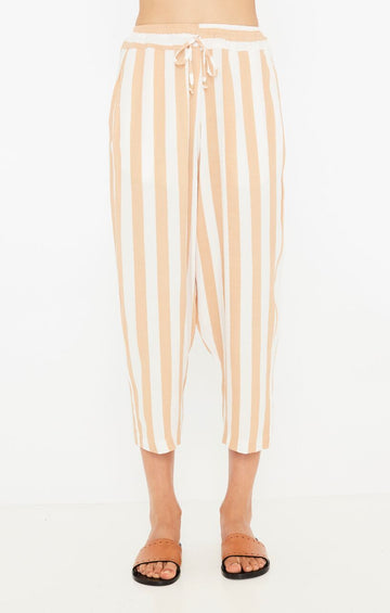 FAITHFULL THE BRAND - Vedado Pants - Memphis Stripe Print