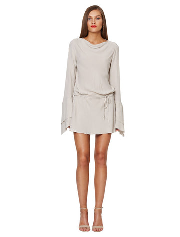 BEC & BRIDGE - Emmanuel Eyes L/S Dress - Dove Grey
