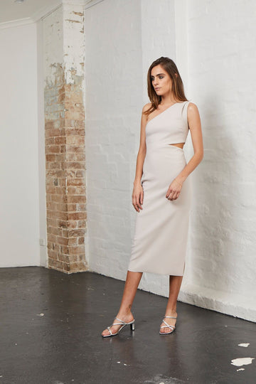 BEC & BRIDGE - Alessandra Asym Dress - Nude