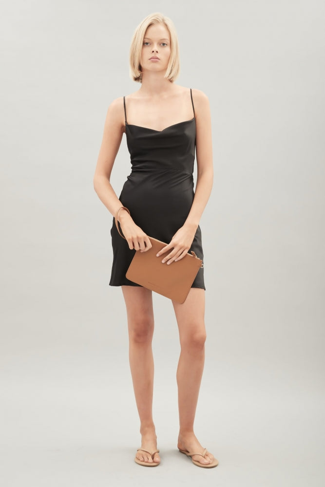 HANSEN & GRETEL - Isla Silk Dress - Black