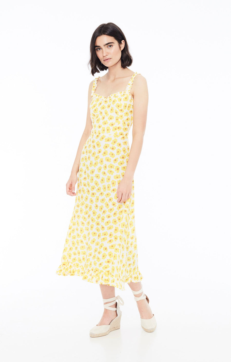FAITHFULL THE BRAND - Noemie Midi Dress - Constance Floral