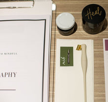 Load image into Gallery viewer, Private 1:1 Live Online - Introduction to Mindful Modern Calligraphy Workshop